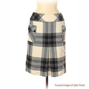 Talbot's Fall Wool Plaid Skirt